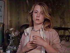 Vintage dívka s jednorožcem