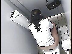 Arabskou dívku WC špión