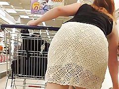 Waooow fantastický zadek cochet šaty
